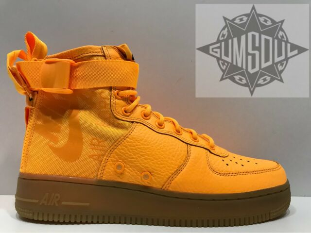 los angeles 1d911 42c4b ... discount code for nike sf af1 special air force mid odell beckham jr  orange sz 8.5