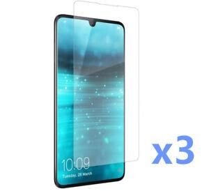 Lot De 3 Film De Protection Transparent Screen Protector Pour Huawei P30 Pro Ebay