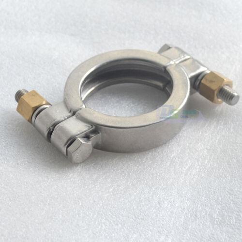 """Durable 1.5/""""-4/"""" High Pressure Tri Clamp Clover SS316 Fit 50.5MM-115MM OD Ferrule"""