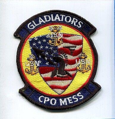 VFA-106 GLADIATORS US NAVY F-18 HORNET Strike Fighter Squadron Jacket Patch Set