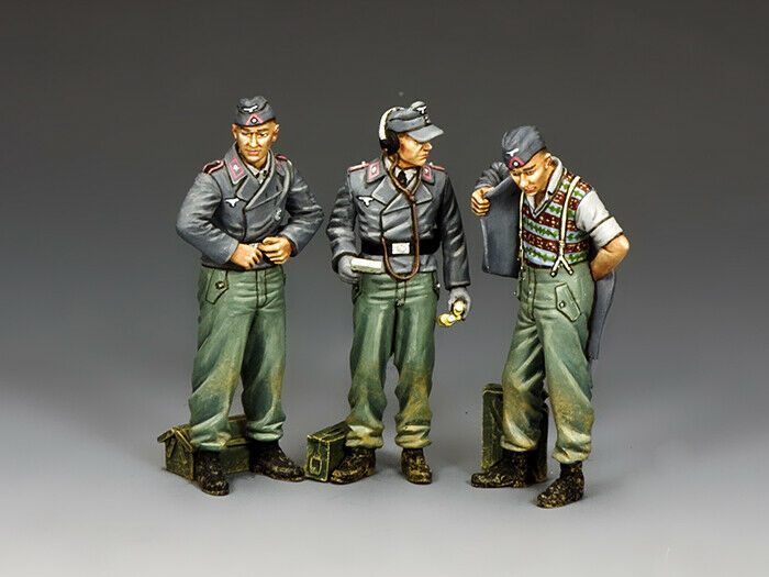 King & Land Ww2 Deutsche Armee Wh090 Demontierte Assault Gun Crew MIB