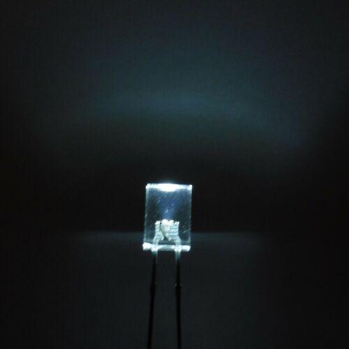 Ultra Bright 2mmx5mmx7mm Clear LED Diode Square Top Light Emitter Transparent