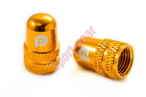 2pcs LitePro Inner Tube Valve Cap Schrader Valve AV Alloy Cap