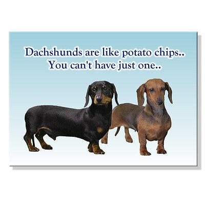DACHSHUND Guardian Angel FRIDGE MAGNET No 1 Doxie DOG
