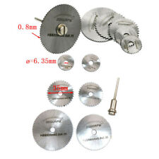 6pcs Metal HSS Circular Saw Blade Set Cutting Discs for Rotary Tool W1H7