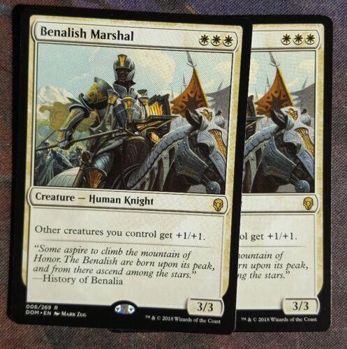 Mtg Benalish marshal   x 1 great  condition