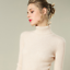 19 Colors Womens Cashmere Blend Turtleneck Pullover Kintted Sweater Solid D325