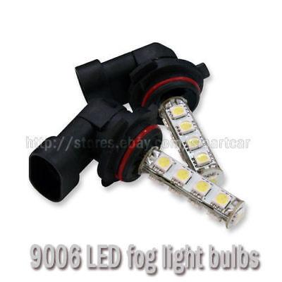 LED Headlight Kit 9006 HB4 White 6000K Fog Light Bulb for KIA Rio Rio5 2012-2019
