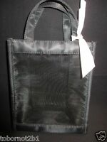 Mary Kay Black Mesh Pink Bow Makeup / Tote Bag 8 X 7 X 3