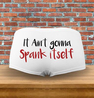 It aint isn/'t gonna SPANK ITSELF bdsm submissive panties underwear ddlg flirty