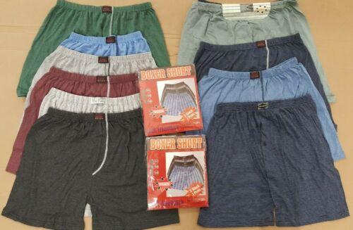 10 Stück Herren Boxershorts Größe L XL XXL 3XL 4XL 5XL Übergröße Pants Streifen