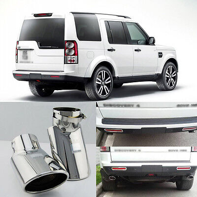 High Grade T304 Stainless Steel Exhaust Tip Tail Pipe For Land rover Discovery 4