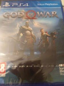 NEW - GOD OF WAR - PS4 - PLAYABLE IN ENGLISH - PAL ESPAÑA