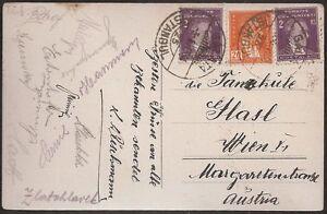 s1662) Österreich Autogrammkarte Fussballspieler AK aus Istanbul 1931
