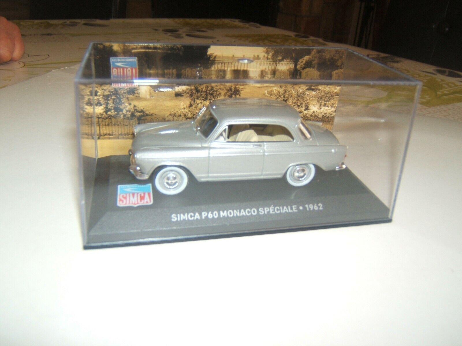 SIMCA  P60 MONACO SPECIALE   1962  1 43 EME