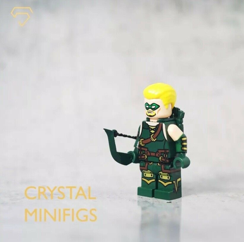 **NEW** CRYSTAL MINIFIGS Custom Arrow Lego Minifigure