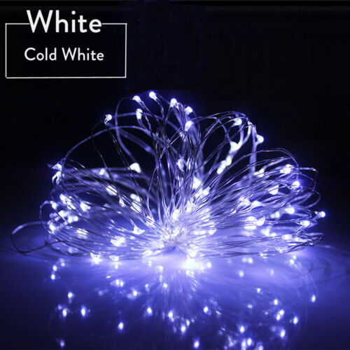 10M 1M 8 Modes Fairy String Lights Battery Operated With Remote Timer Control