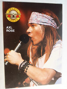 Postcard-CPM-Guns-N-039-Roses-Axl-Rose