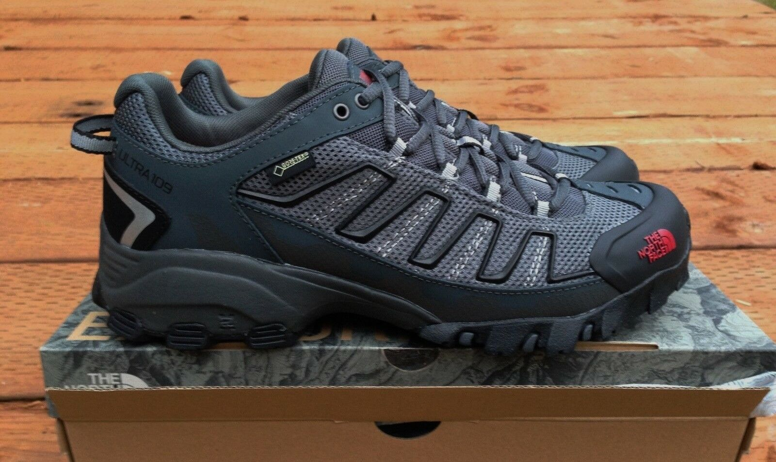 Para Hombre THE NORTH ULTRA 109 bajo GTX GORE FACE-Zapatos Trail Hiking correr TEX Excursionistas