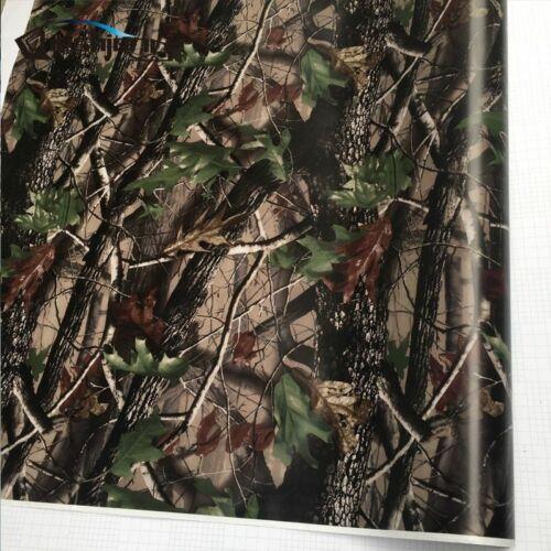 Break Up Real Camo Tree Vinyl Car Wrap PVC Adhesive Real Tree Camouflage Film