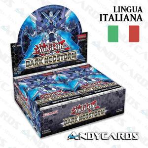 Box-Neotempesta-Oscura-Dark-Neostorm-ITALIANO-24-Buste-DANE-YUGIOH-ANDYCARDS