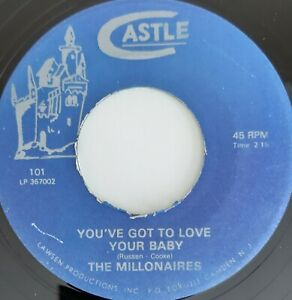 THE-MILLONAIRES-You-039-ve-Got-To-Love-Your-Baby-NORTHERN-SOUL-70-039-s-reissue