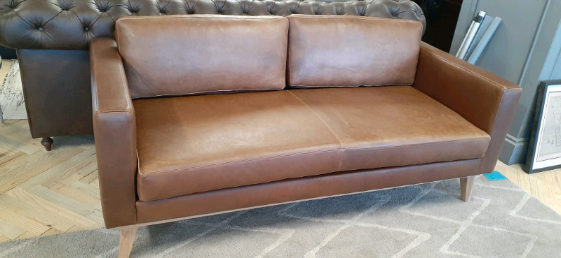 Leather couch sale