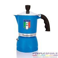 Bialetti Fiammetta 3 Cup Italia Espresso Coffee Maker Percolator Stovetop