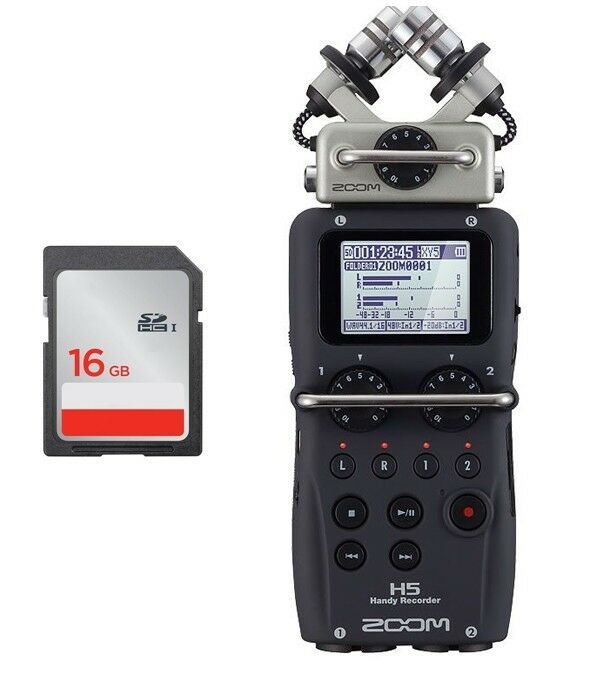 Zoom H5 - Registratore Digitale con Scheda SD
