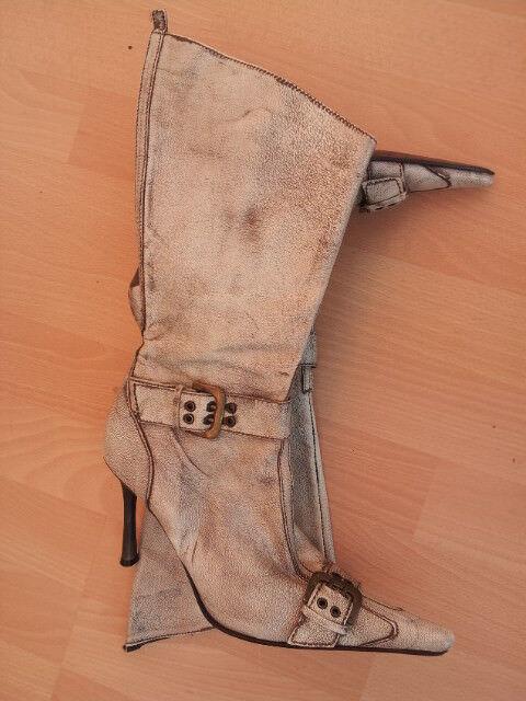 Neu Echtlleder Stiefel.  Gr.37