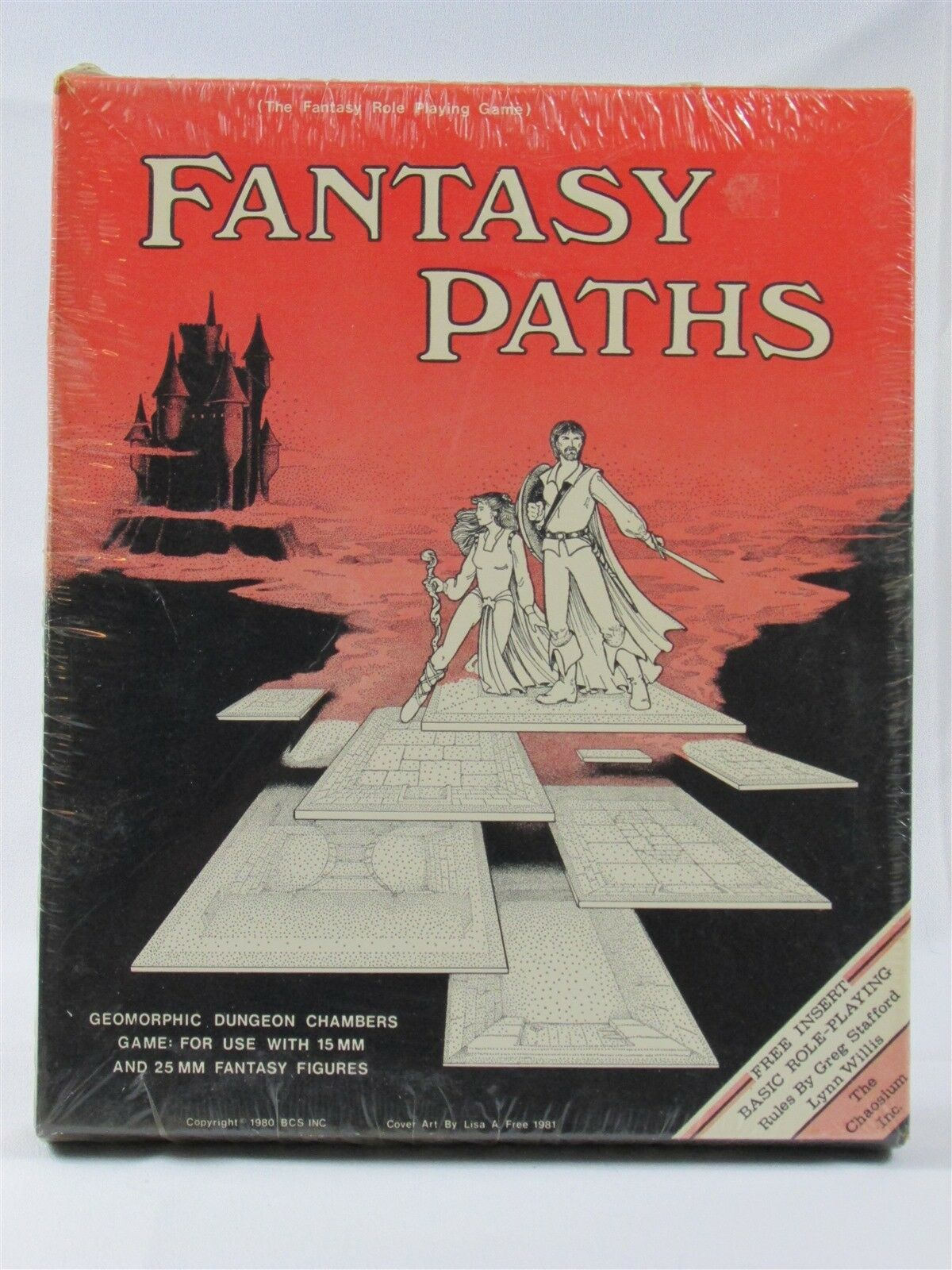 RARE FANTASY PATHS NEW SEALED IN SHRINK  HARD TO TO TO FIND CHAOSIUM BOARD GAME 0b02df