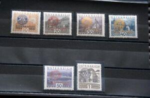 OSTERREICH-Rotary-1931-Michel-Nr-518-523-tadellos-postfrisch-700-Euro-Kat-Wert