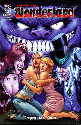 GRIMM FAIRY TALES PRESENTS ROBYN HOOD #2A GARZA Cover NM New! 2012 Zenescope