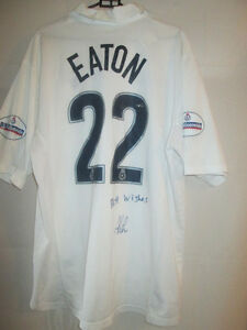 Adam-Eaton-Preston-North-End-Match-Worn-Signed-1999-00-Football-Shirt-COA-20787