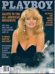 Playboy-Magazine-August-1992-Excellent-Condition-All-American-Housewife