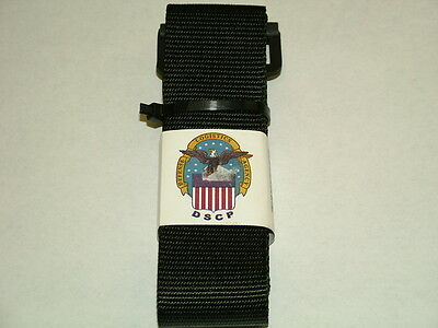"US ARMY UNIFORM BLACK 2"" NYLON BDU RIGGERS BELT 8415-01-480-0465"