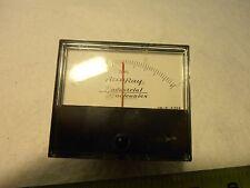 Vintage Triplett Deviation Meter Dm B 41394 Es 25ua
