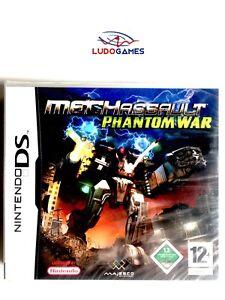 Mechassault-Phantom-War-Nintendo-DS-Pal-Eur-Scelle-Videojuego-Neuf-Nouveau