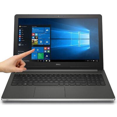 "New Dell Inspiron 15.6"" Touch Intel i7-6500U 2.5GHz 8GB 1TB Backlit Kbd Win 10"