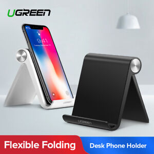 UGREEN-Universal-Desk-Stand-Holder-Cradle-For-iPhone-Samsung-Cell-Phone-Tablet