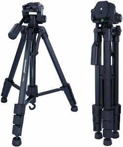 Lightweight-57-5-034-Camera-Tripod-Pan-Head-Stand-with-Carry-Bag-for-DSLR-SLR-Canon