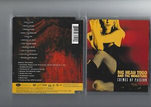 Big Head Todd & The Monsters: Crimes of passion DVD-Audio, 5.1, DTS, vgl. SACD - Kornwestheim, Deutschland - Big Head Todd & The Monsters: Crimes of passion DVD-Audio, 5.1, DTS, vgl. SACD - Kornwestheim, Deutschland