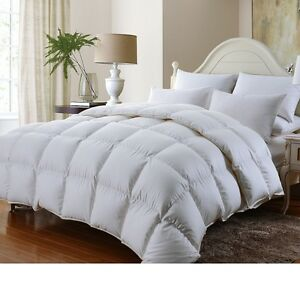 LUXURIOUS-1200TC-BAFFLE-BOX-Siberian-GOOSE-DOWN-Comforter-TWIN-FULL-QUEEN-KING