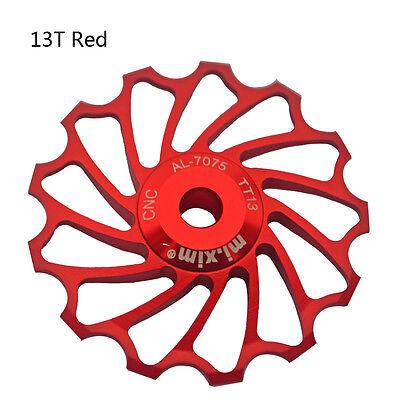 2pcs Bike Alloy Jockey Wheels Pulley Rear Deraille For Shimano SRAM Red