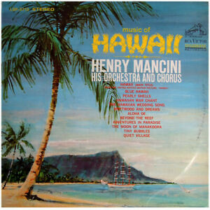 MANCINI MUSIC OF HAWAII LSP-3713 LP VINYL RECORD Tiki Exotica Sleeved