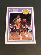 e33060ba83e item 5 1989-90 FLEER BASKETBALL #76 A.C. GREEN LOS ANGELES LAKERS NR.MINT  OREGON ST. -1989-90 FLEER BASKETBALL #76 A.C. GREEN LOS ANGELES LAKERS NR.