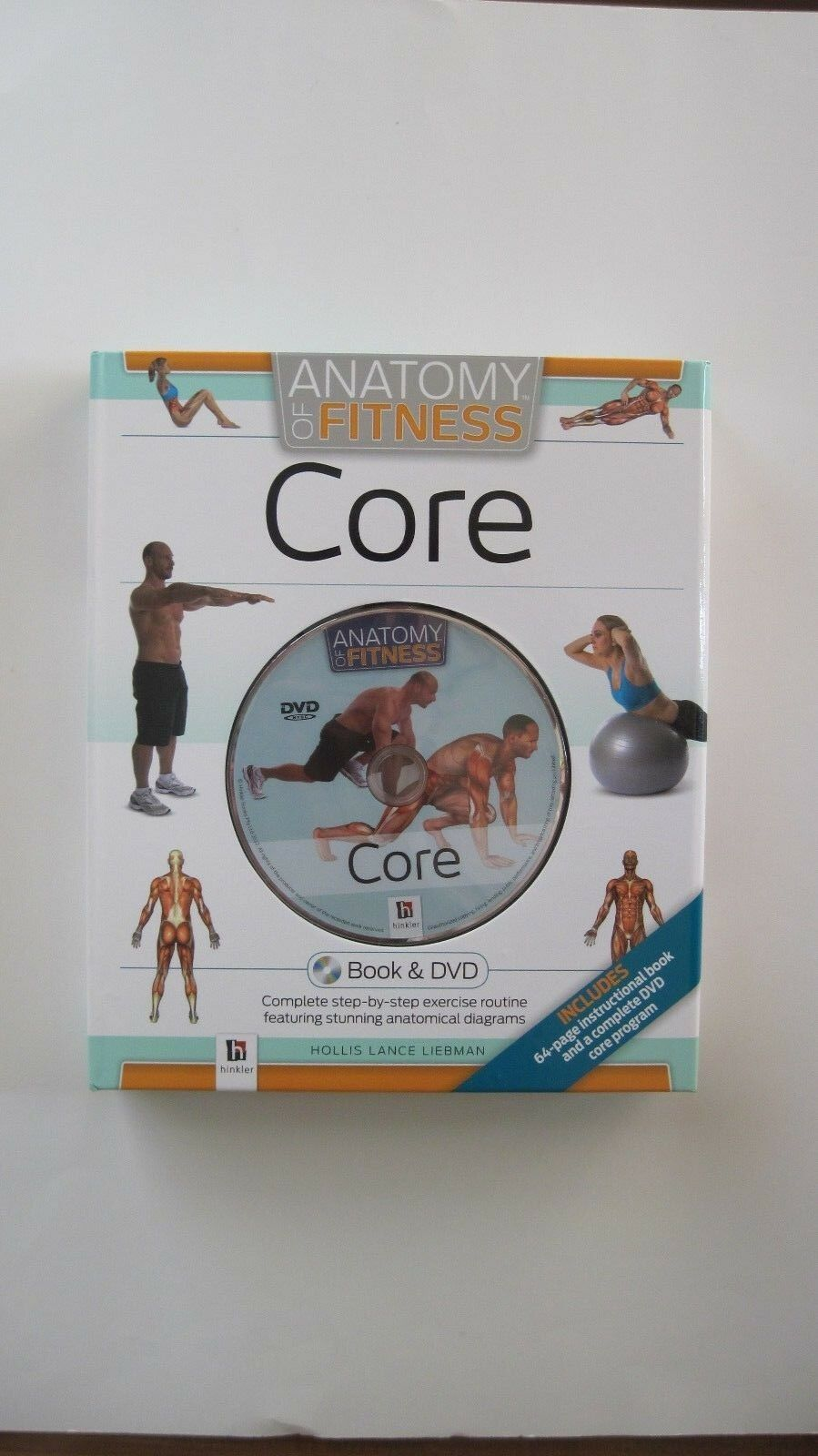 CORE Anatomy of Fitness Book and DVD Step by Step Exercise Routine Brand NEW  Reviews