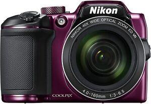 NIKON-COOLPIX-B500-Digital-Camera-B500PU-PLUM-PRE-OWNED