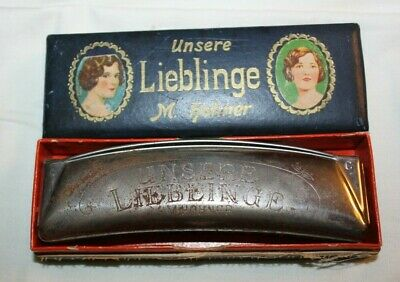 Hohner Unsere Lieblinge 32 Octave Harmonica C or G Beautiful Tone for Folk Music