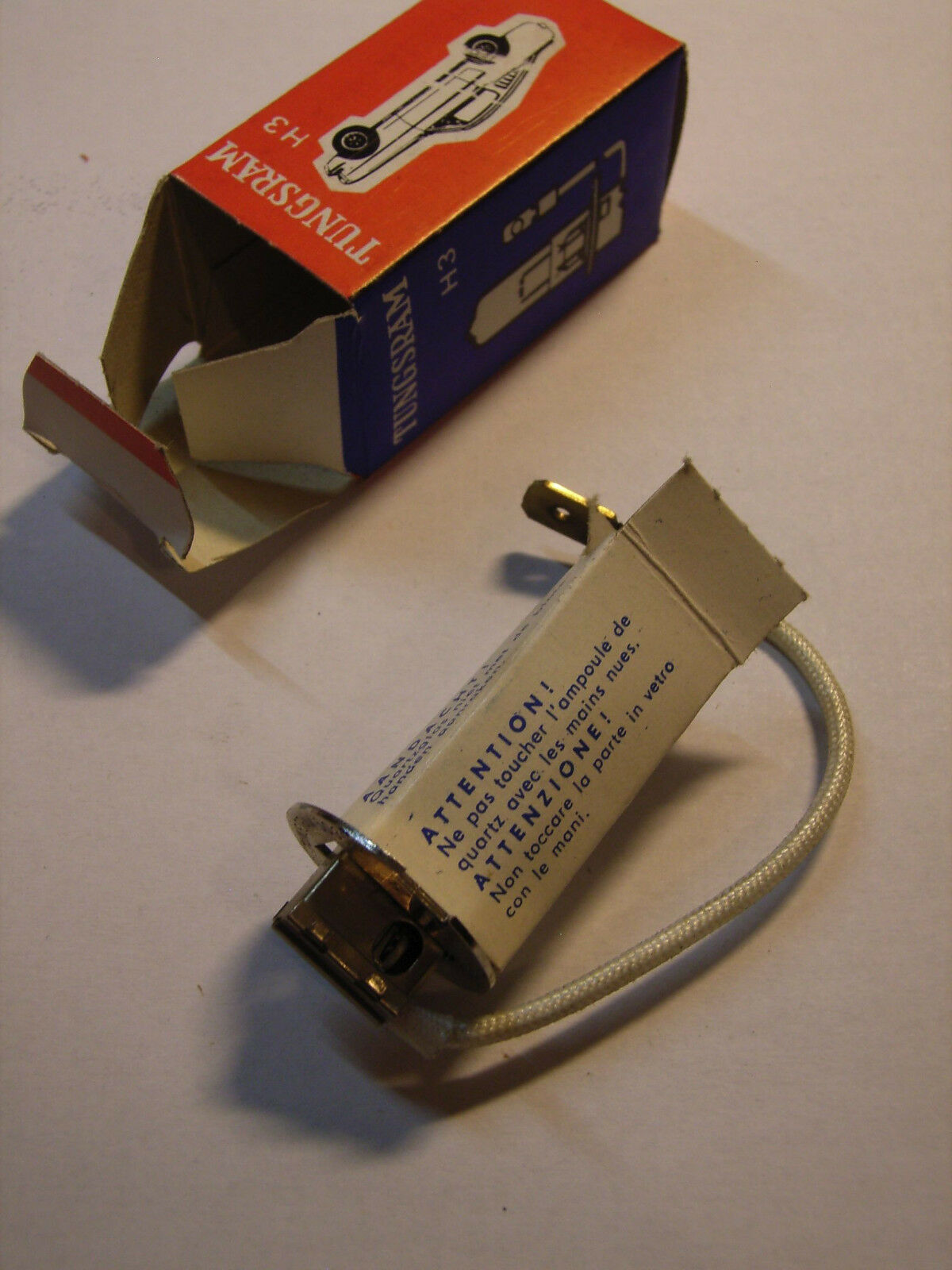 H3 70W 24V Halogen Bulb with PK22s base TRUCK BUS lamp Tungsram